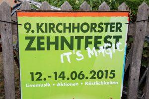 9. Kirchhorster Zehntfest 2015 (13. Juni 2015)